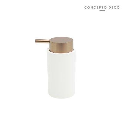 DISPENSER PREMIUM BLANCO COBRE 14x7CM